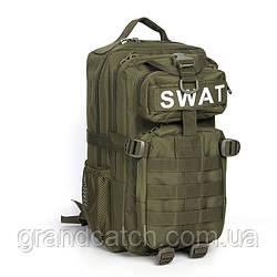 Рюкзак тактичний Silver Knight Олива SWAT-3P