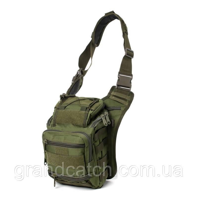 Рюкзак-сумка Silver Knight Олива RT-803