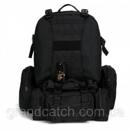 Рюкзак рейдовый Silver Knight Черный RT-213