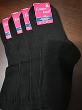 Элегант носки жен. Х/Б р. 23 ( Черный )