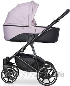 Детская универсальная коляска 2 в 1 Riko Side 02 Rose