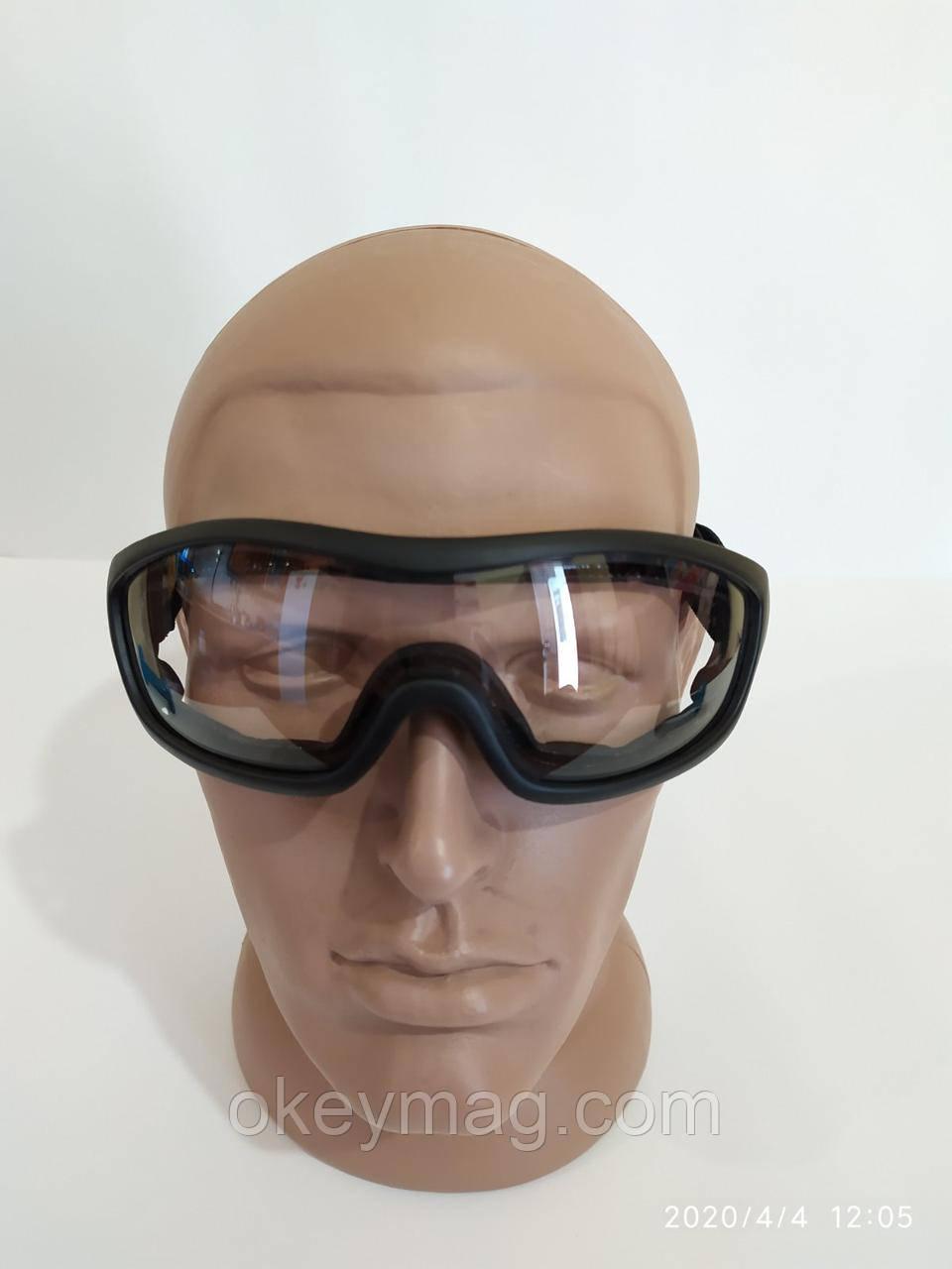 Маска защитная тактическая, защитные очки ударопрочные