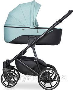 Детская универсальная коляска 2 в 1 Riko Side 03 Mint