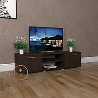 Тумбочка под телевизор, комод под ТВ с дверками из ДСП. K0012
