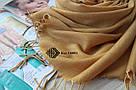 """Турецкий шарф палантин Ozsoy из пашмины """"Луиза"""" 116001, фото 2"""