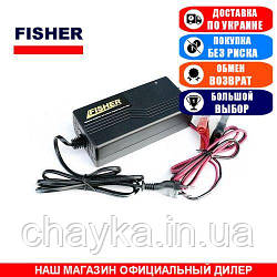 Импульсное зарядное устройство Fisher 10А. PSCC-1210. (Зарядное устройство для аккумуляторов GEL, AGM);