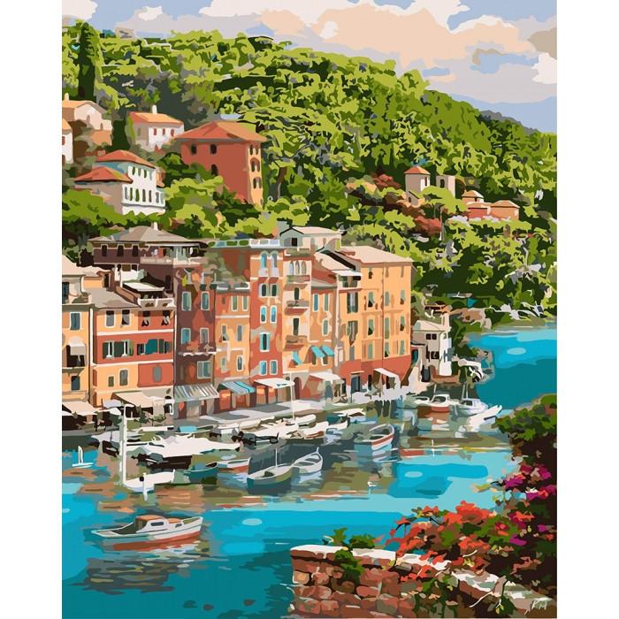 Картина по номерам Идейка - Мальовнича бухта 40x50 см (КНО2273)