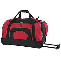 Сумка-чемодан дорожная на колесиках с выдвижной ручкой большая Profi (8700)