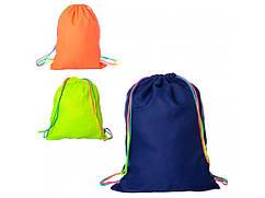Сумка (рюкзак) детская спортивная для обуви и одежды на затяжке Profi (MK 1967)
