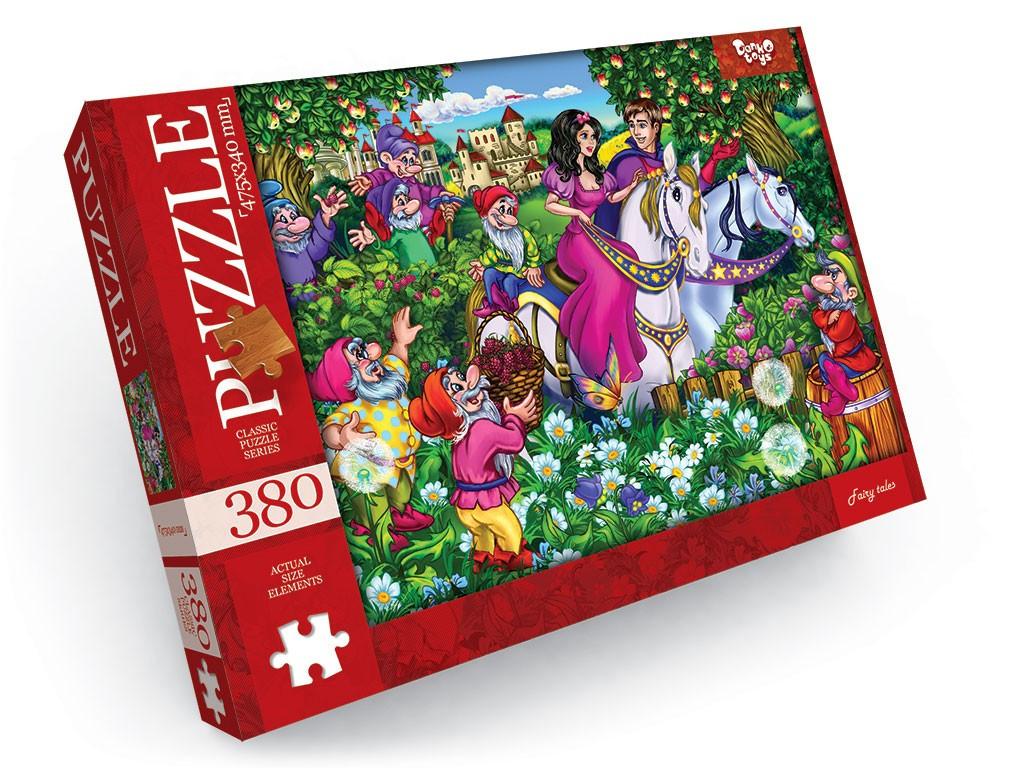 Пазли 380 елементів 3 серія Danko Toys (С380-03-02)