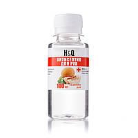 Антисептик для рук H&Q - 100 мл Антисептическая обработка кожи|Гигиеническая дезинфекция рук и кожи, Дыня