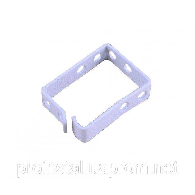 Кабельный организатор-кольцо 44х60 метал 2мм серый