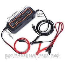 Автомобильное зарядное устройство PROinstal BYGD 6V-12V 5А c индикацией AC 200V-240V, DC 6V-12V-0.9A +