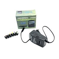 Универсальный блок питания 30W корпус - пласт ручная регулировка 6 разъемов 2.5A BOX