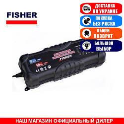 Импульсное зарядное устройство Fisher 10А. T4-0227. Автомат. (Зарядное устройство для аккумуляторов GEL, AGM);