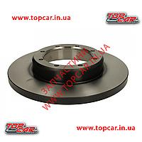Тормозной диск задний Renault Master III 2.3DCi 10- двокатк 305мм TRW DF6372
