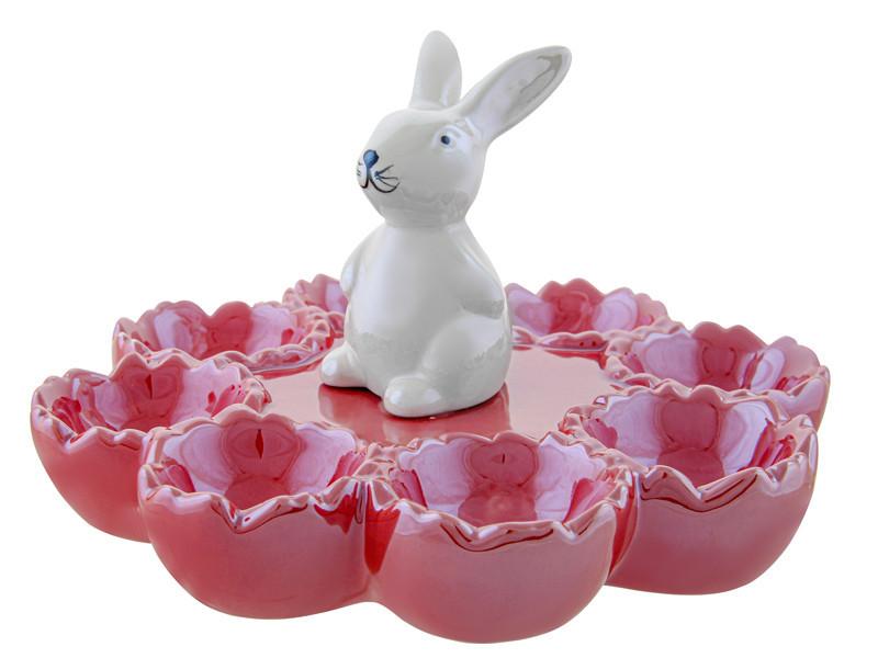 Блюдо для яиц Lefard Пасхальный кролик 19 см 947-033 пасхальное блюдо посуда для Пасхи подставка