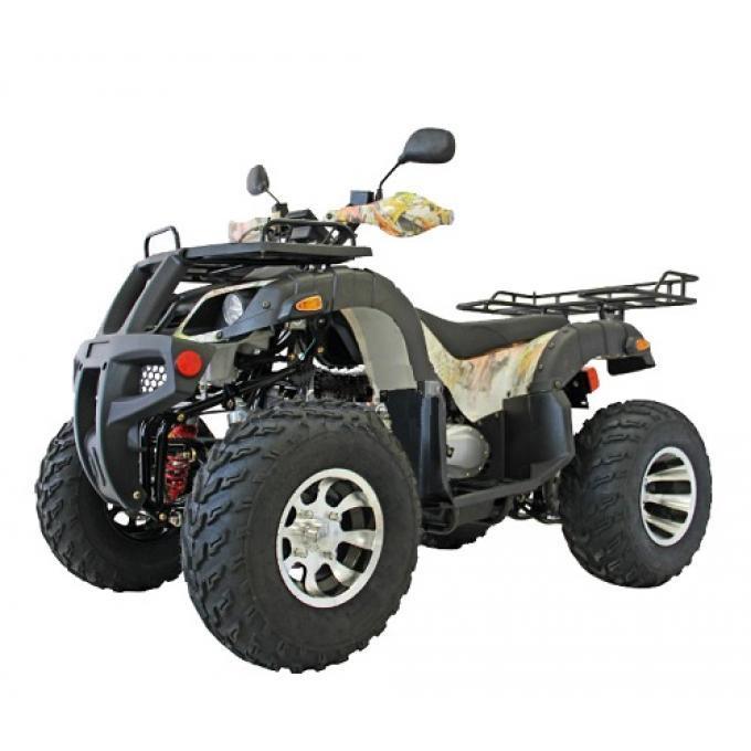 Квадроцикл Hummer 200 LUX (ланцюговий привід) Пустельний камуфляж