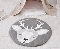 Одеяло коврик в детскую комнату Олененок