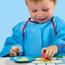 Пальчиковые краски серии My first - МОИ ПЕРВЫЕ ФИГУРКИ 3 цвета картинки 3 формы Ses Creative 14414S, фото 3
