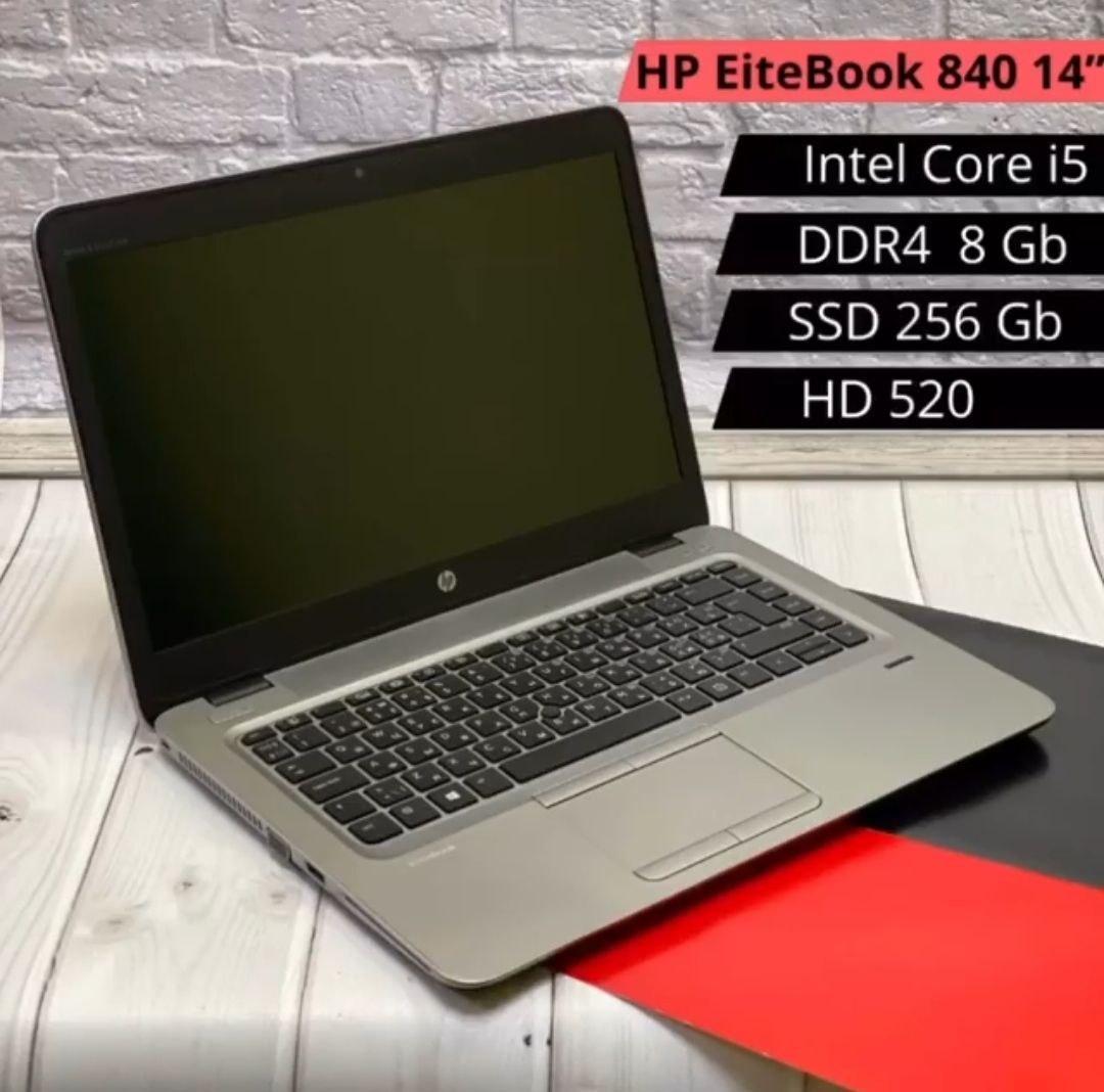 НОУТБУК HP EliteBook 840 14 (i7-6300U / DDR4 8GB / SSD 256GB / HD 520)
