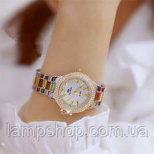 Bee Sister 1258 Gold-Silver-White Diamonds