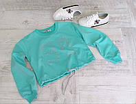 Кофта-топ с завязками для девочки  размеры 4-8 лет, 18-12 лет в разных цветах
