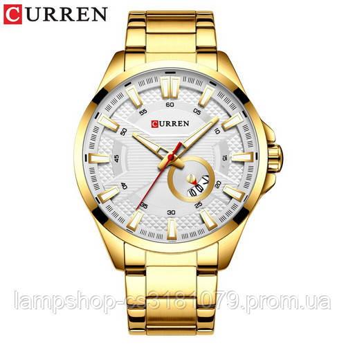 Curren 8372 Gold-White