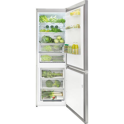 Двухкамерный холодильник Kernau KFRC 18262 NF E IX, фото 2