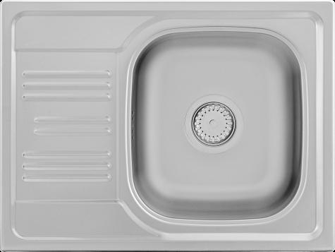 Кухонная мойка KERNAU KSS C 455 1B1D SMOOTH, фото 2