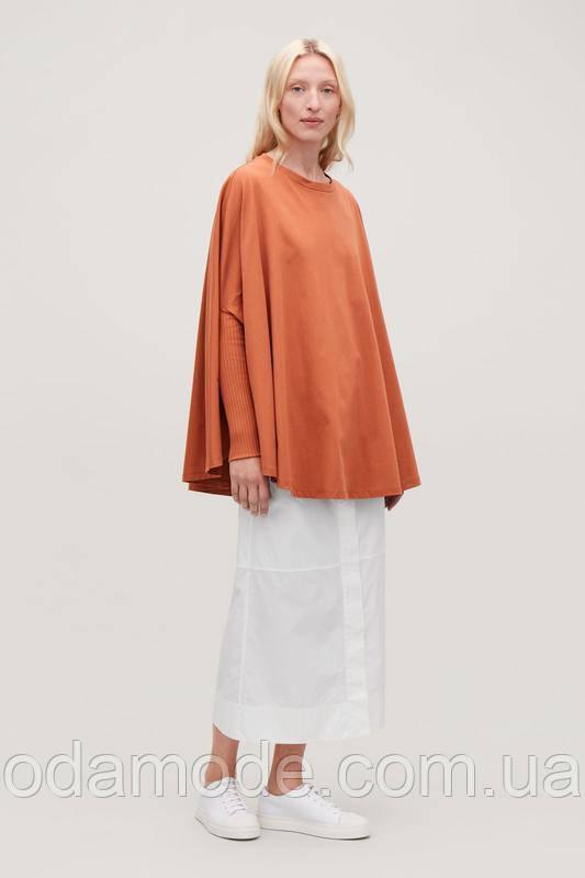 Блуза женскаяоранжевая свободного кроя COS