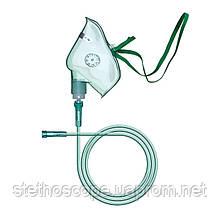 Маска кислородная педиатрическая  (с трубкой в комплекте)