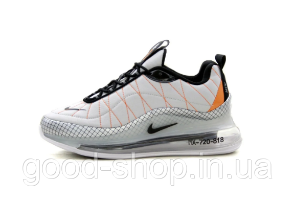 "Мужские кроссовки Nike Air Max 720-818 ""Light Grey"" (люкс копия)"