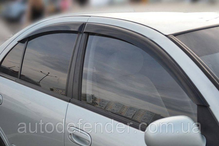 Дефлекторы окон (ветровики) Nissan Almera N16 sedan, Cobra Tuning - VL, N10106
