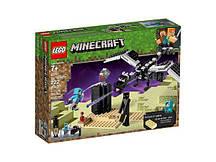 Конструктор LEGO Minecraftт Битва на земле (21151)