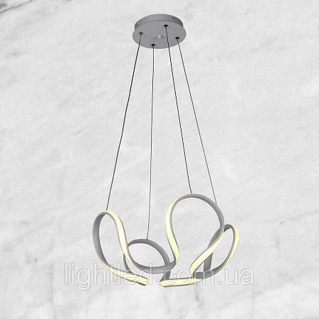 Светодиодная подвесная люстра (белая, 34W), фото 2