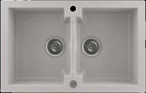 Кухонная мойка KERNAU KGS A 80 2B NATURAL BEIGE, фото 2