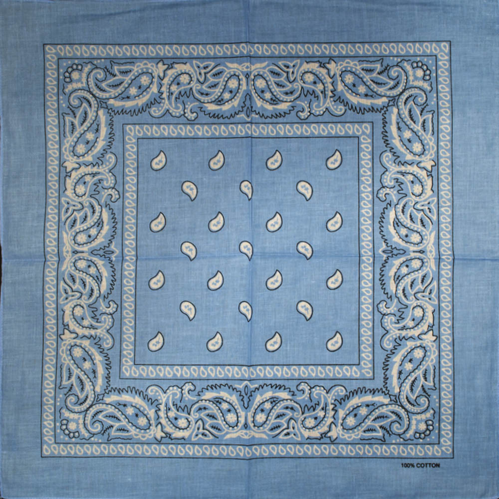 Бандана BAN-091 Голубая