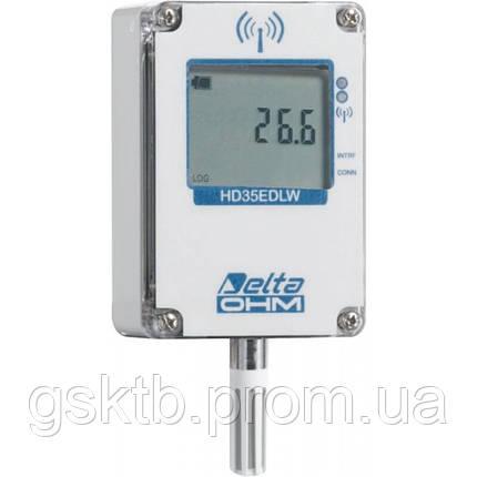 Delta OHM HD35EDW1NTV водонепроницаемый WiFi регистратор температуры и влажности со встроенным датчиком, фото 2