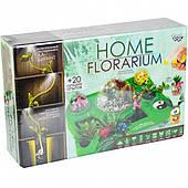 """Набор для выращивания растений """"HOME FLORARIUM"""" РУС"""