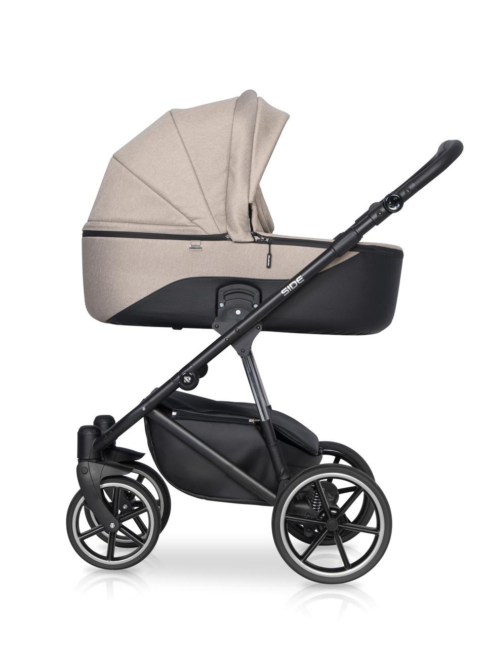 Детская универсальная коляска 2 в 1 Riko Side 04 Nugat