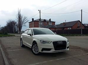 Ветровики Audi A3 Sd (8V) 2013  дефлекторы окон