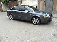 Ветровики Audi A4 Sd (B6/B7/8E) 2000-2008 дефлекторы окон