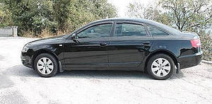 Ветровики Audi A6 Sd C6 2005-2011 дефлекторы окон
