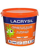 """Клей монтажний акриловий Lacrysil """"Сумасшедшая липучка"""" 3 кг, білий"""