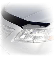Мухобойка, дефлектор капота AUDI A3 (кузов 8P) с 2003-2012 г.в.(3d)