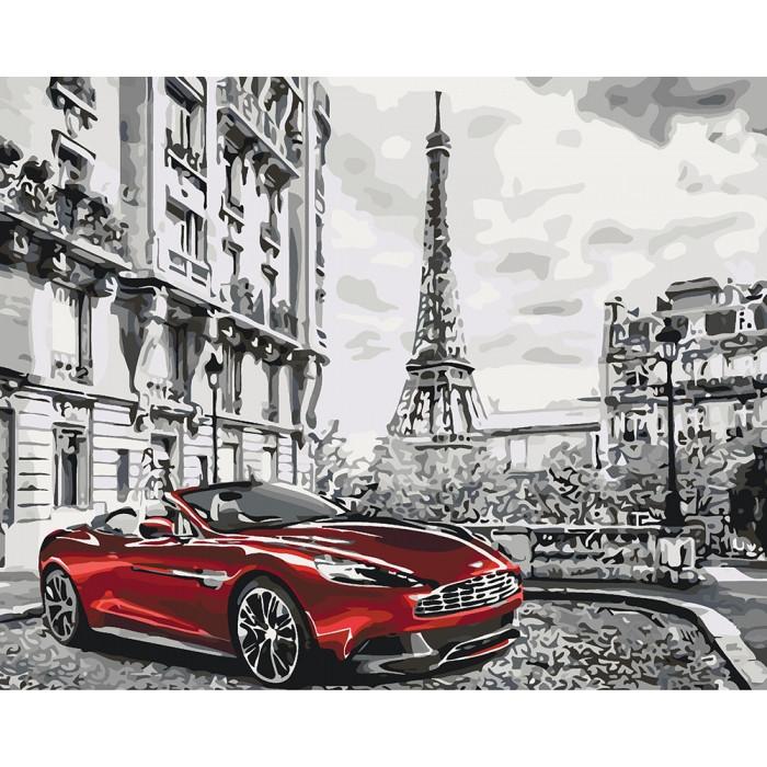 Картина по номерам Идейка - Парижское утро 40x50 см (КНО3514)