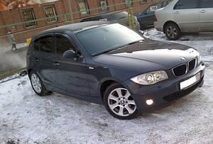 Ветровики BMW 1 (E87) 2004-2011  дефлекторы окон