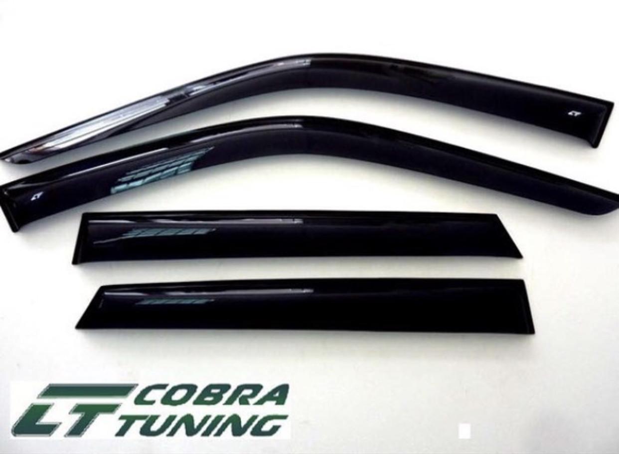 Ветровики BMW 1 (F20) 5d 2011  дефлекторы окон