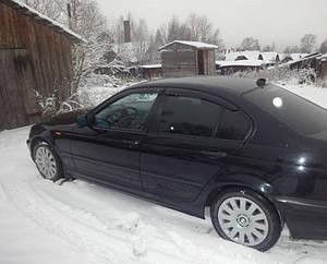 Ветровики BMW 3 Sd E46 1998-2005  дефлекторы окон